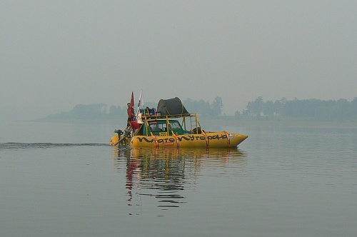 Круизный  double deck boat